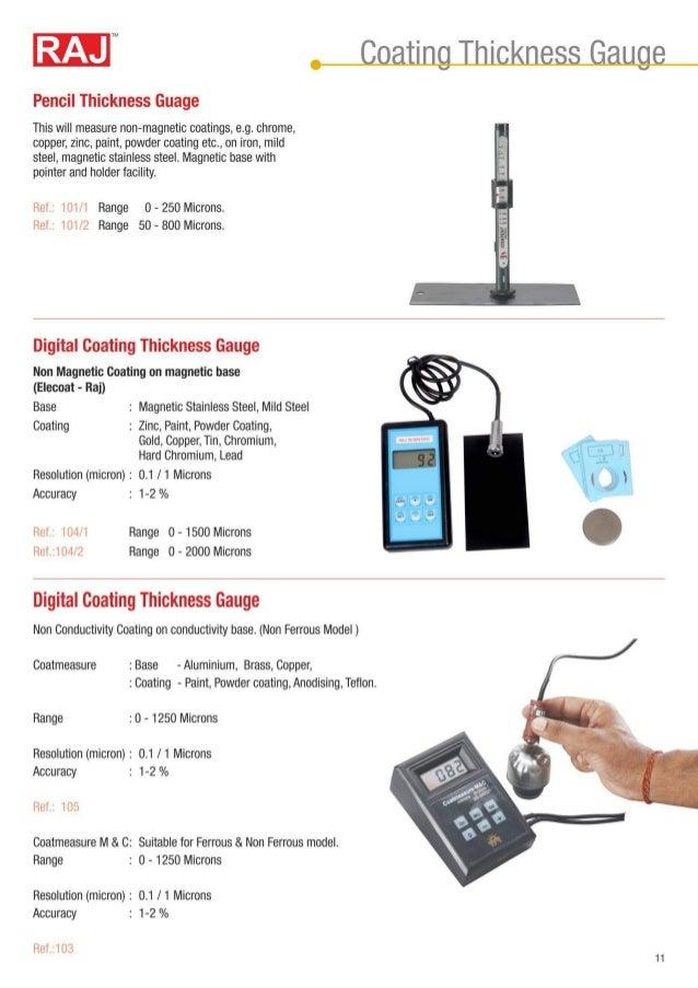 Digital Coating Thickness Gauge Raj Scientific Company
