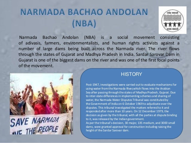 Narmada Bachao Andolan in India