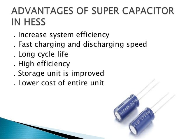 Battery and Super Capacitor based Hybrid Energy Storage System (BSHES…