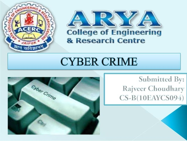  What is Cyber Crime ?  History of Cyber Crime.  Types of Cyber Crime.  Manner of Committing Cyber Crime.  What is Cy...