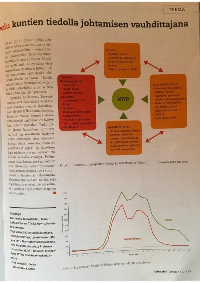 Rakennetun ympäristön sähköinen asiointipalvelu kuntien tiedolla johtamisen vauhdittajana Slide 2