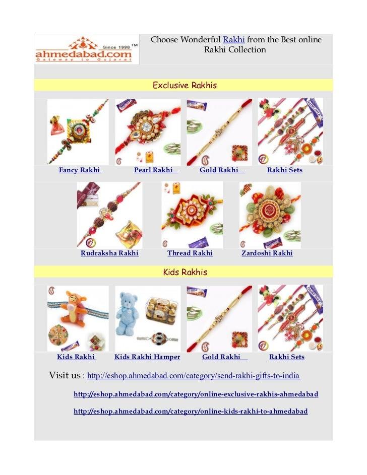 Choose Wonderful Rakhi from the Best online                                        Rakhi Collection                       ...