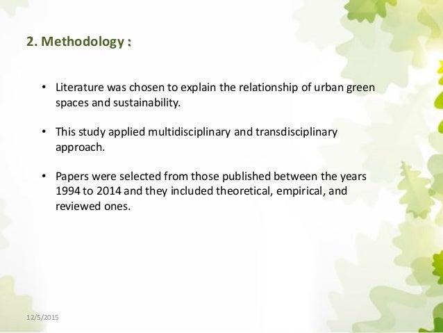 Transdisciplinary Design Natural Resources