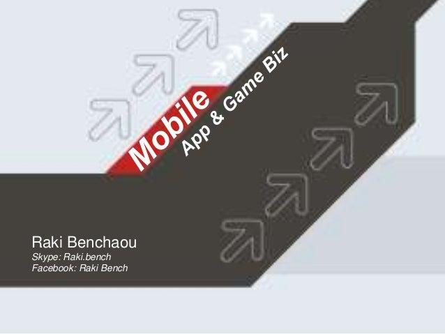 Raki Benchaou Skype: Raki.bench Facebook: Raki Bench
