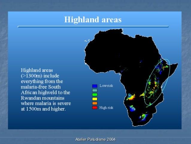 Le paludisme de montagne en Afrique Slide 3