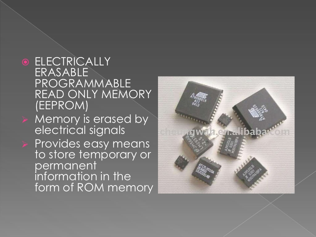 Types Of Memories And Storage Device Computer Erasable Programmable Readonly Memory Integrated Circuits These