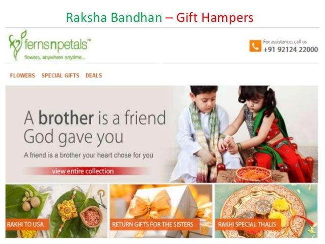 Raksha Bandhan – Gift Hampers