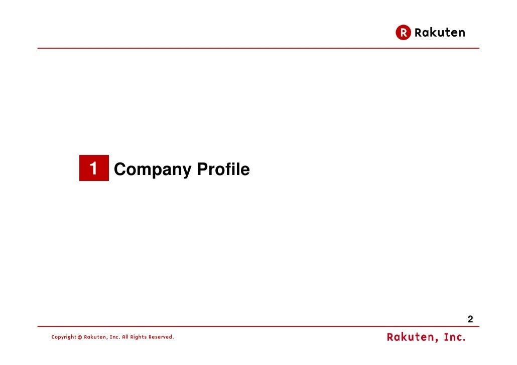 Rakuten Business Model 2009 Slide 3