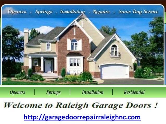Raleigh Garage Doors Nc