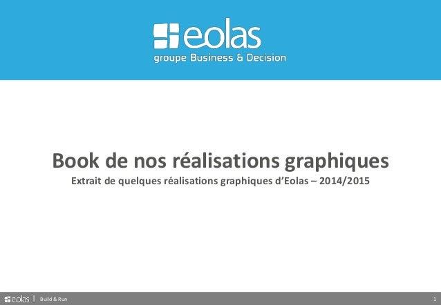 1Build & Run Book de nos réalisations graphiques Extrait de quelques réalisations graphiques d'Eolas – 2014/2015