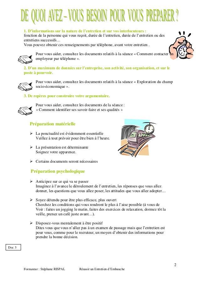 Exemple De Fiche D Entretien Professionnel - Le Meilleur ...