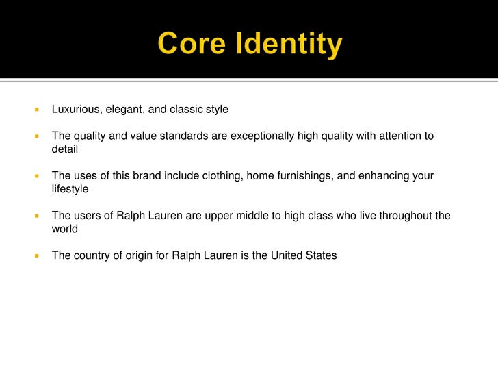Clothing Store Core Values