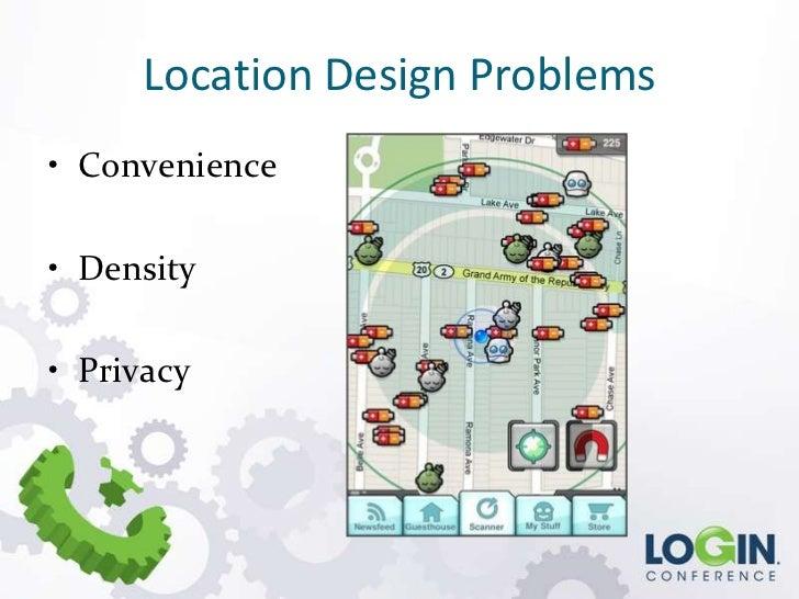Location Design Problems• Convenience• Density• Privacy