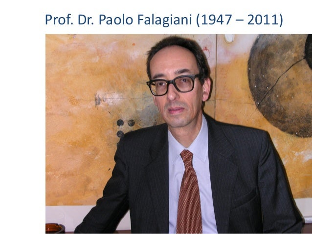Prof. Dr. Paolo Falagiani (1947 – 2011)