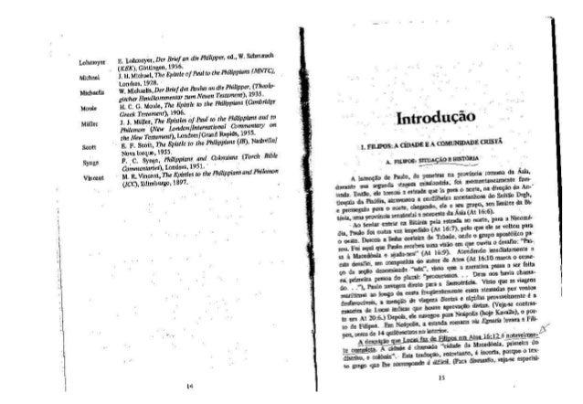Ralph p. martin   filipenses, introdução e comentário - série cultura bíblica