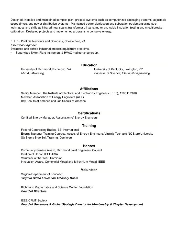 certified energy manager resume - Vatoz.atozdevelopment.co