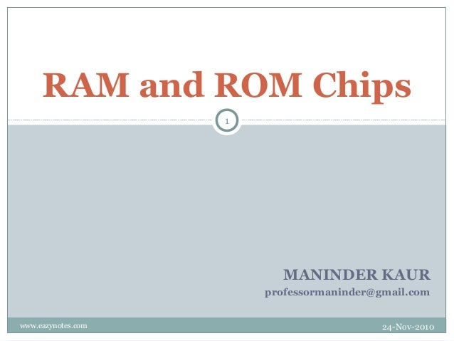 RAM and ROM Chips                    1                          MANINDER KAUR                        professormaninder@gma...