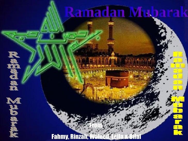 FromFahmy, Rinzah, Waleed, Leila & Bilal