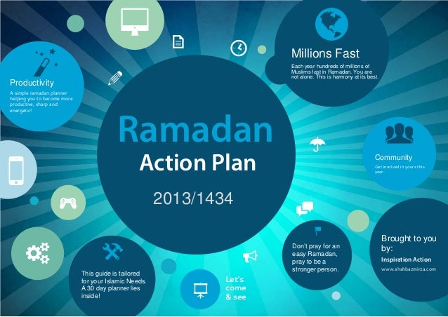 Ramadan 2013/1434 Action Plan Millions Fast Each year hundreds of millions of Muslims fast in Ramadan. You are not alone. ...