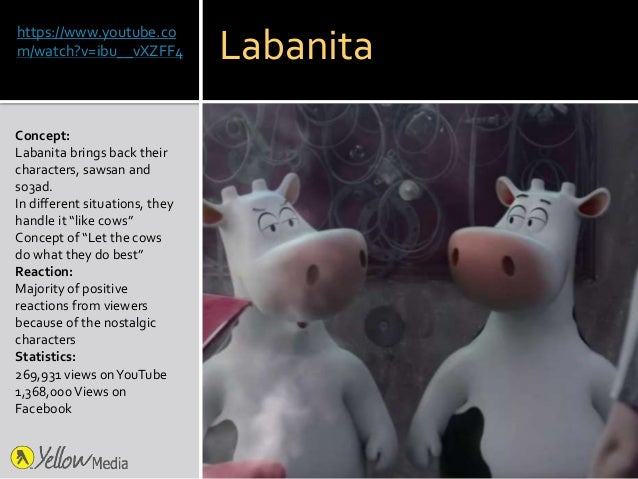 https://www.youtube.co m/watch?v=ibu__vXZFF4 Concept: Labanita brings back their characters, sawsan and so3ad. In differen...