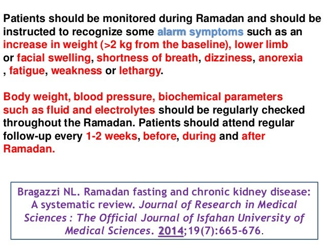 Ramadan Fasting Effect on Patients with Hypertension and