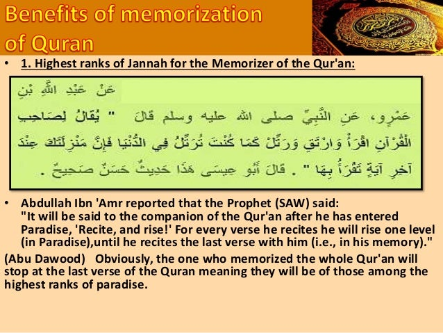 """• 'Ismah Ibn Maalik (RA)reported that the Prophet (Sallallahu Alaihi wasallam) said: • """"If the Qur'aan is enclosed by skin..."""