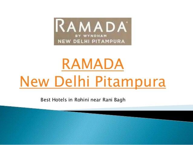 RAMADA New Delhi Pitampura Best Hotels in Rohini near Rani Bagh