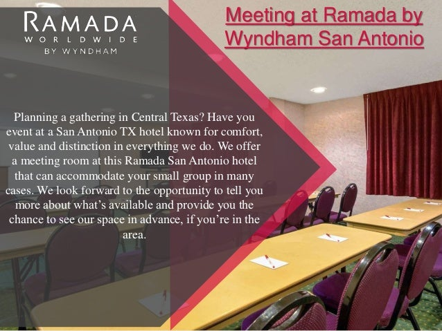 Ramada By Wyndham San Antonio Near Seaworld