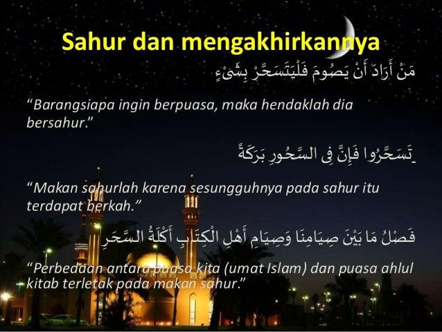 Ramadhan  Bersama  Nabi