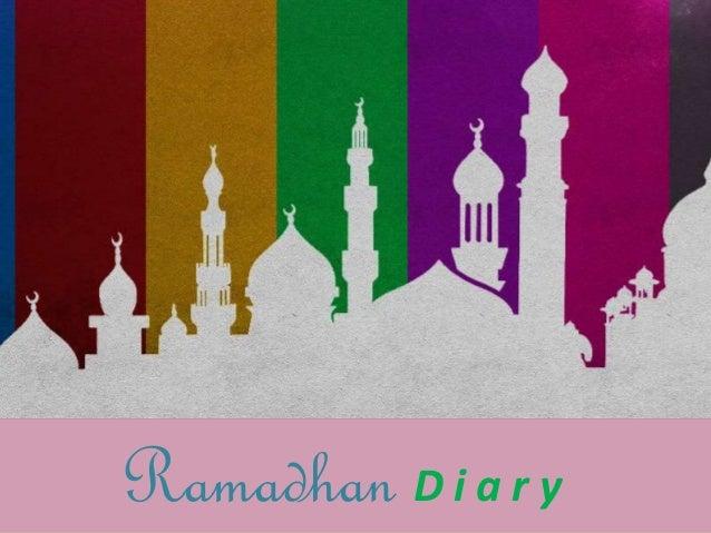 Ramadhan D i a r y