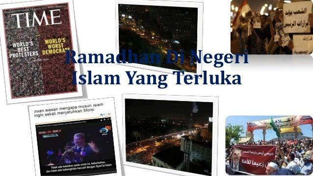 Ramadhan Di Negeri Islam Yang Terluka