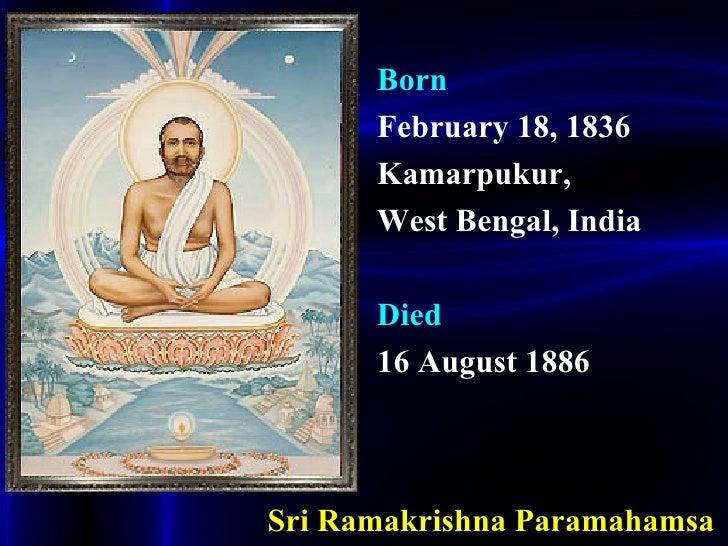 Ramakrishna Paramahamsa History.ppt Slide 2