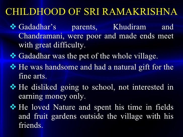 Ramakrishna Paramahamsa History.ppt Slide 3