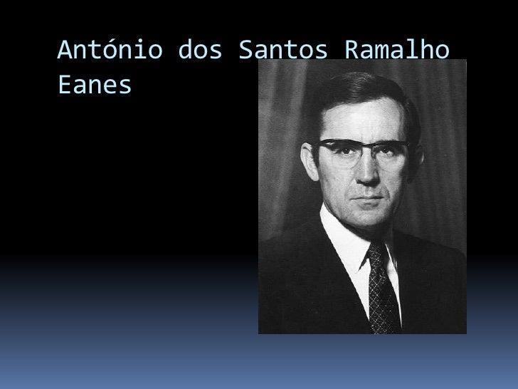 Ramalho Eanes Slide 2