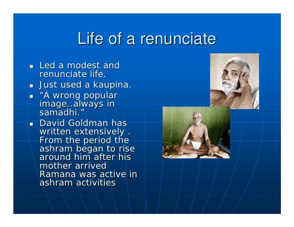 The Westerners discover            Ramana In 1911 Frank Humphreys discovered Ramana and wrote articles on him in The Inter...