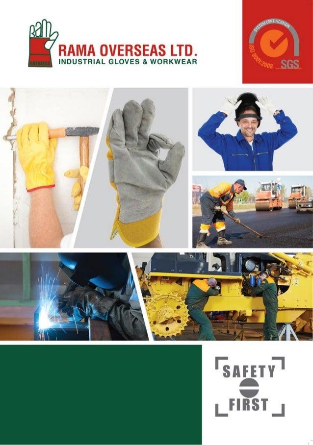 Rama Overseas Ltd, Kolkata, Yellow Grain Glove