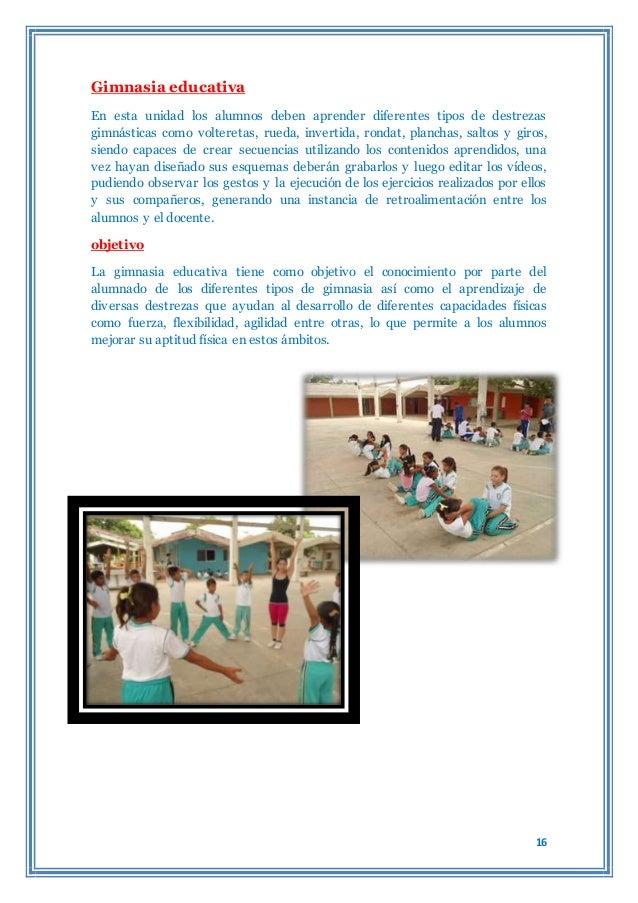 Monografia de gimnasia for Definicion de gimnasia