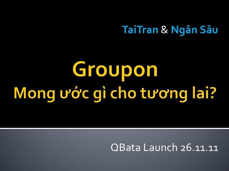 TaiTran & Ngân SâuQBata Launch 26.11.11