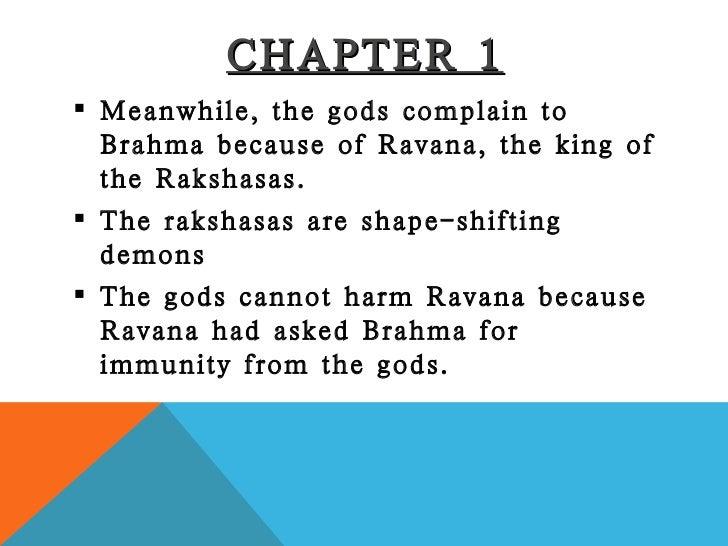 ramayana chapter 1 summary