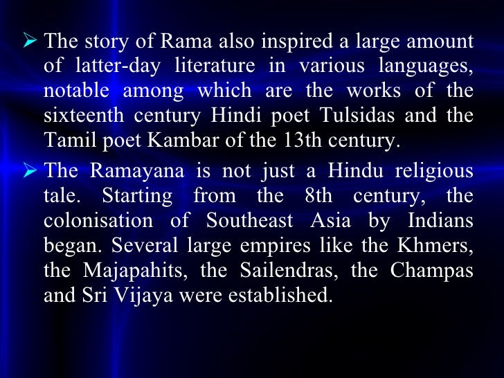 Ramayana Story In English Pdf