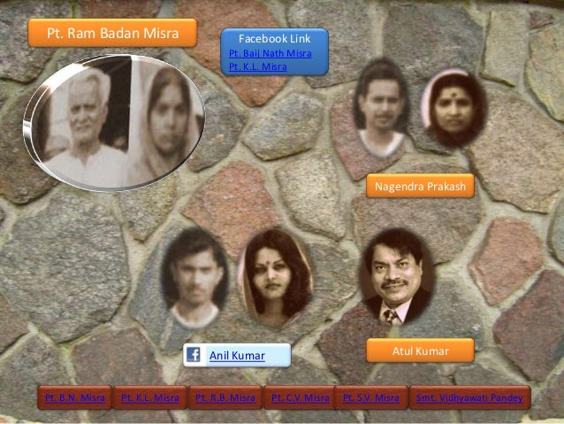 Pt. Ram Badan Misra                         Facebook Link                                         Pt. Baij Nath Misra     ...