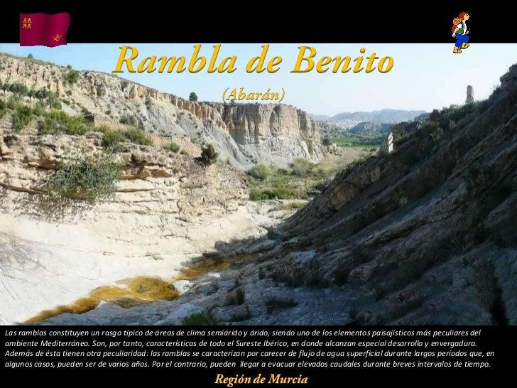 Álbum de fotografías por apala Las ramblas constituyen un rasgo típico de áreas de clima semiárido y árido, siendo uno de ...
