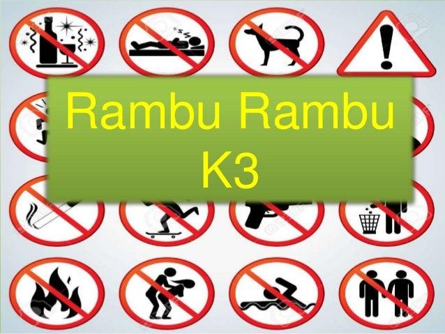Rambu Rambu K3