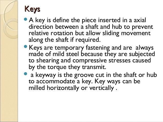 Mechanical Keys Slide 2