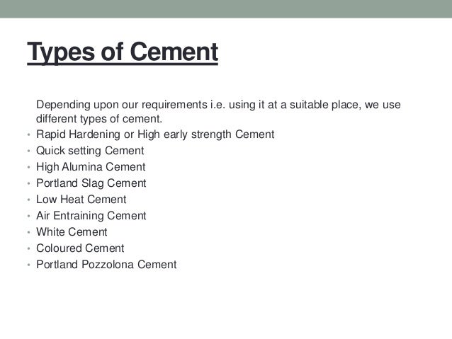 Daswell produces many types of concrete