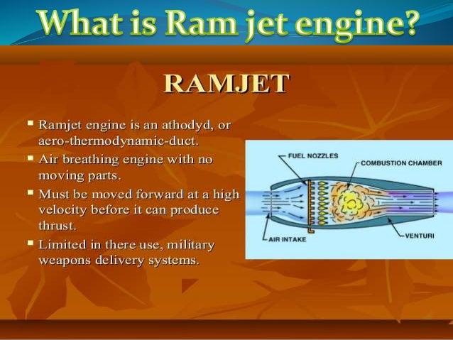 Ramjet engines