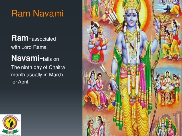 Ram Navami Presentation By Vke Teachers