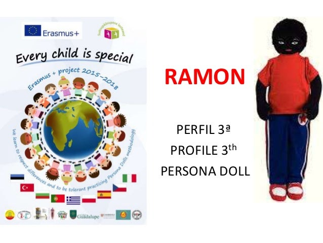 RAMON PERFIL 3ª PROFILE 3th PERSONA DOLL