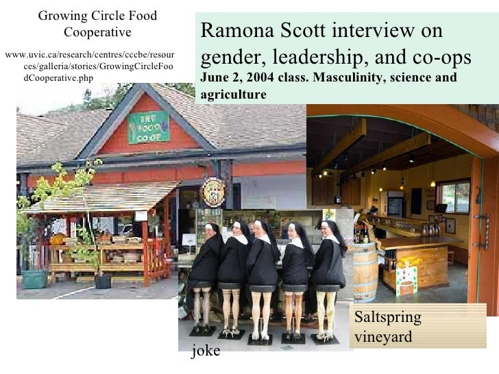 Growing Circle Food           Cooperative                       Ramona Scott interview onwww.uvic.ca/research/centres/cccb...