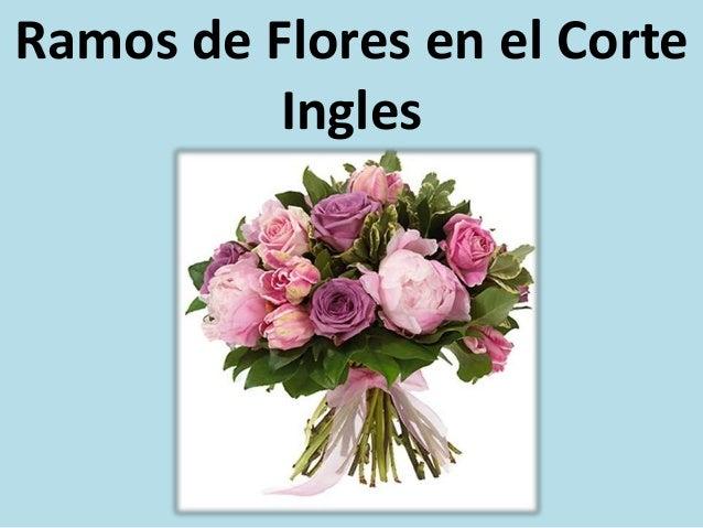 Ramos de flores en el corte ingles for Cuna colecho el corte ingles